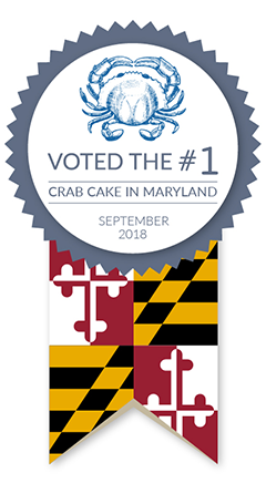 Voted the #1 crab cake in Maryland
